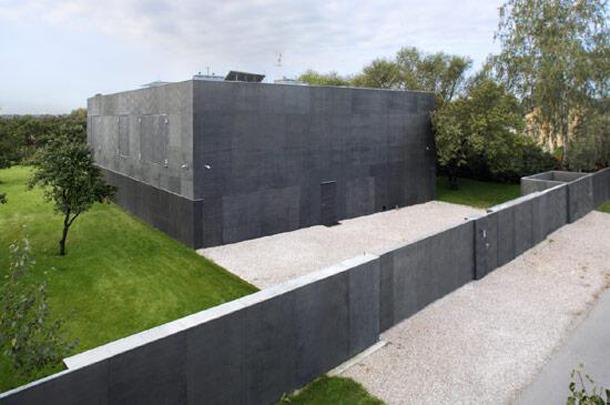 Casa bunker cerrada