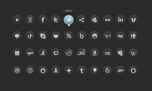 Iconos DevianArt - iconos sociales